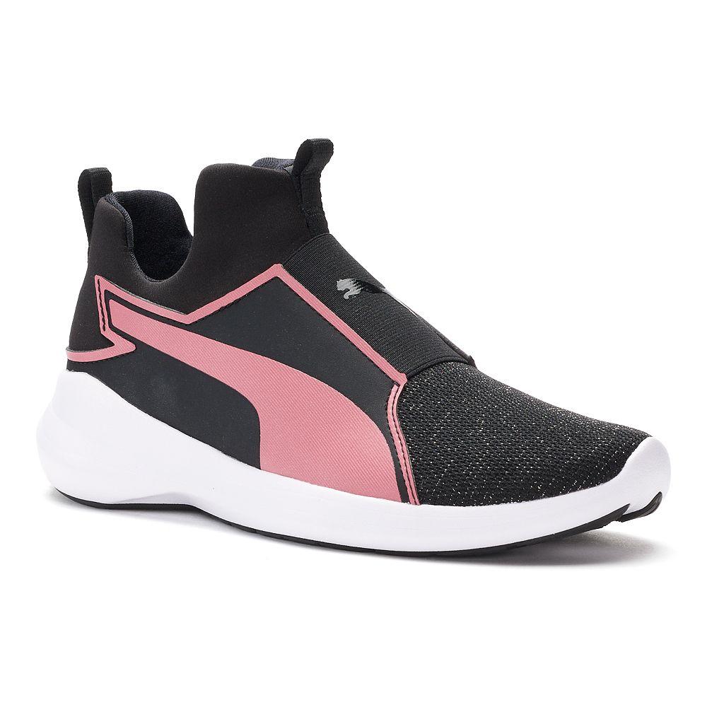 PUMA Rebel Mid Kids Training Shoes