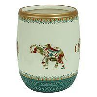 Bacova Boho Elephant Wastebasket