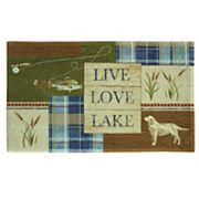 Bacova Live Love Lake Bath Rug
