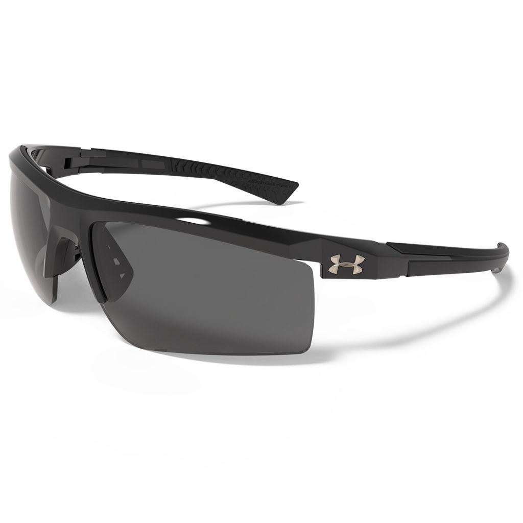 Men's Under Armour Core 2.0 Storm Polarized Semirimless Wrap Sunglasses