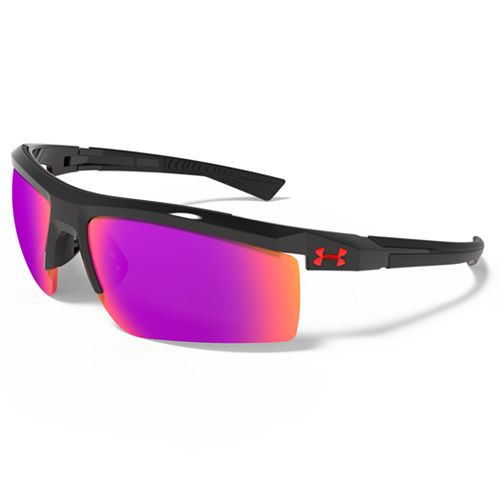 Men's Under Armour Core 2.0 Semirimless Wrap Sunglasses