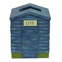 Bacova Live Love Lake Tissue Box Cover