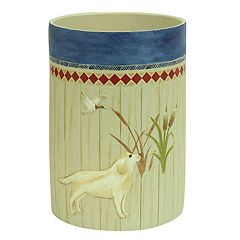 Bacova Live Love Lake Wastebasket