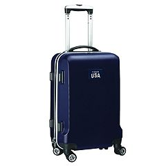 Denco USA Olympics Team 20-Inch Wheeled Hard-Case Carry-On Bag