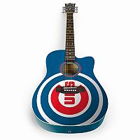 Woodrow Chicago Cubs Acoustic Guitar