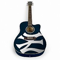Woodrow New York Yankees Acoustic Guitar