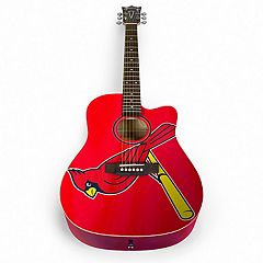 Woodrow St. Louis Cardinals Acoustic Guitar