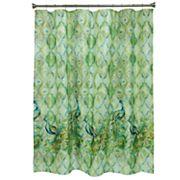 Bacova Peacock Shower Curtain