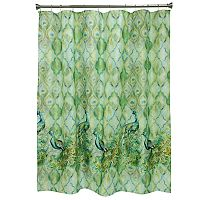 Bacova Peacock Shower Curtain