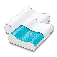 Serta 2-pack Gel HD Contour Gel Memory Foam Pillow