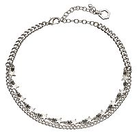 Simply Vera Vera Wang Star Choker Necklace