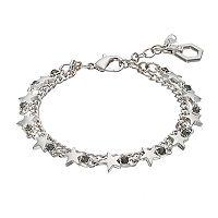 Simply Vera Vera Wang Star Double Strand Bracelet