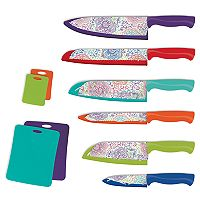 Farberware Patterned 16-pc. Nonstick Cutlery Set