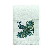 Bacova Peacock Fingertip Towel