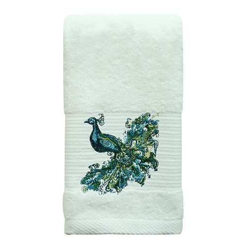 Bacova Peacock Hand Towel