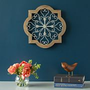 Stratton Home Decor Heart Scroll Wall Decor