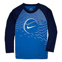 Boys 4-7 Nike Raglan Baseball Graphic Tee