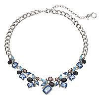 Simply Vera Vera Wang Blue Stone Cluster Statement Necklace