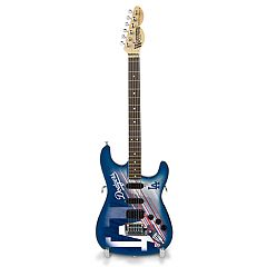Los Angeles Dodgers NorthEnder Collector Series Mini Replica Electric Guitar