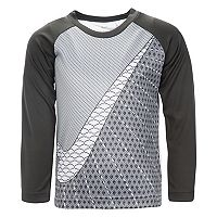 Boys 4-7 Nike Raglan Abstract Graphic Tee