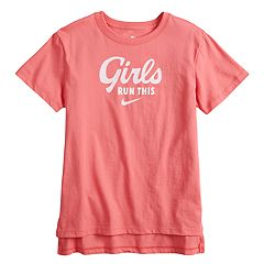 Girls 7-16 Nike 'Girls Run This' Graphic Tee