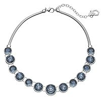 Simply Vera Vera Wang Blue Round Stone Necklace