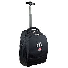 USA Olympics Team Premium Wheeled Backpack