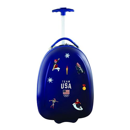 Children's USA Olympics Team Hardshell Wheeled Luggage Pod