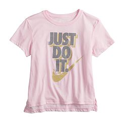 Girls 7-16 Nike 'Just Do It' Metallic Graphic Tee