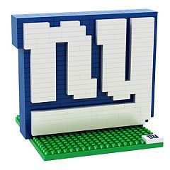 Forever Collectibles New York Giants BRXLZ 3D Logo Puzzle Set