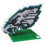 Forever Collectibles Philadelphia Eagles BRXLZ 3D Logo Puzzle Set