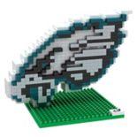 Forever Collectibles Philadelphia Eagles BRXLZ 3D Logo Puzzle Set