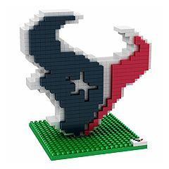 Forever Collectibles Houston Texans BRXLZ 3D Logo Puzzle Set
