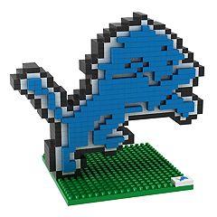 Forever Collectibles Detroit Lions BRXLZ 3D Logo Puzzle Set