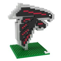 Forever Collectibles Atlanta Falcons BRXLZ 3D Logo Puzzle Set