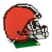 Forever Collectibles Cleveland Browns BRXLZ 3D Logo Puzzle Set