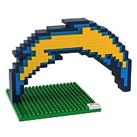 Forever Collectibles Los Angeles Chargers BRXLZ 3D Logo Puzzle Set