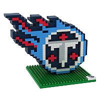 Forever Collectibles Tennessee Titans BRXLZ 3D Logo Puzzle Set