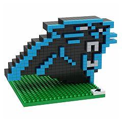 Forever Collectibles Carolina Panthers BRXLZ 3D Logo Puzzle Set
