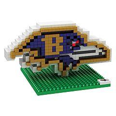 Forever Collectibles Baltimore Ravens BRXLZ 3D Logo Puzzle Set