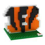Forever Collectibles Cincinnati Bengals BRXLZ 3D Logo Puzzle Set