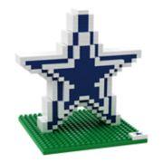 Forever Collectibles Dallas Cowboys BRXLZ 3D Logo Puzzle Set