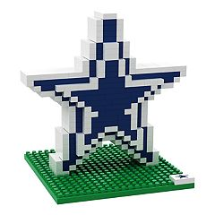 Forever Collectibles Dallas Cowboys BRXLZ 3D Logo Puzzle Set