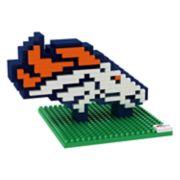 Forever Collectibles Denver Broncos BRXLZ 3D Logo Puzzle Set