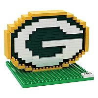 Forever Collectibles Green Bay Packers BRXLZ 3D Logo Puzzle Set