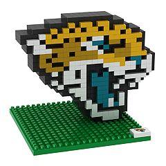 Forever Collectibles Jacksonville Jaguars BRXLZ 3D Logo Puzzle Set