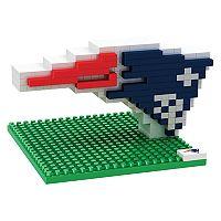 Forever Collectibles New EnglandPatriots BRXLZ 3D Logo Puzzle Set