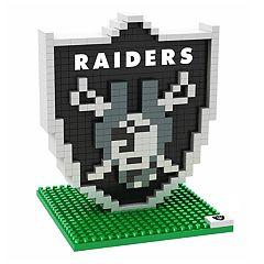 Forever Collectibles Oakland Raiders BRXLZ 3D Logo Puzzle Set