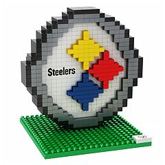 Forever Collectibles Pittsburgh Steelers BRXLZ 3D Logo Puzzle Set