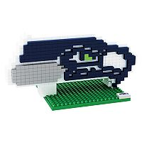 Forever Collectibles Seattle Seahawks BRXLZ 3D Logo Puzzle Set